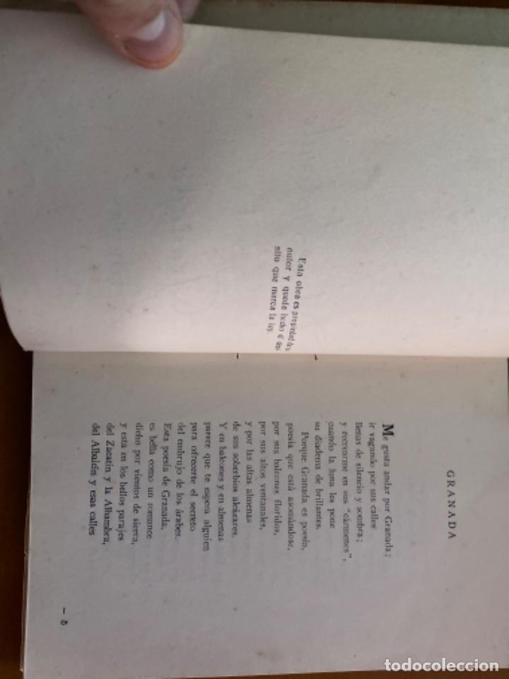 Libros antiguos: ANTIGUO LIBRO DEL ANDEVALO A GRANADA POEMAS ANGEL HORTAL - Foto 4 - 212697141