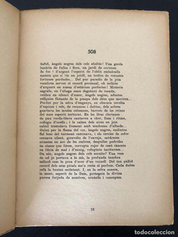 Libros antiguos: AGUSTÍ ESCLASANS. RITMES (LLIBRE VIII). 1935 - Foto 3 - 213166901