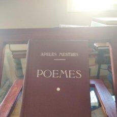 Libros antiguos: APELES MESTRES-POEMES-3 LIBROS ENCUADERNADOS-IDILIS I Y II+CANTS INTIMS-1908-ANTONI LOPEZ. Lote 213650208