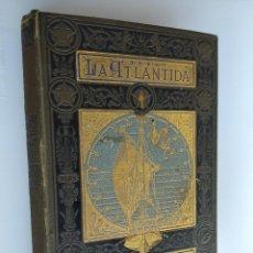 Libros antiguos: LA ATLANTIDA, JACINTO VERDAGUER, MELCIOR DE PALAU, BILINGUE, PRIMERA EDICIO, 1878. Lote 214664835