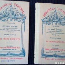 Libros antiguos: EL MORO EXPOSITO. TOMOS I Y II. DUQUE DE RIVAS. MADRID 1932.. Lote 214913965