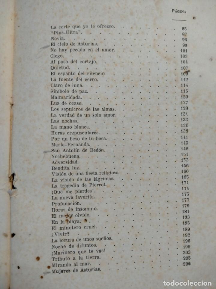 Libros antiguos: RIMAS SENCILLAS. CARLOS GARCIA ROSALES. TALLERES TIPOGRAFICSO REGION, OVIEDO 1930. CON SEÑALES DE US - Foto 5 - 215066013