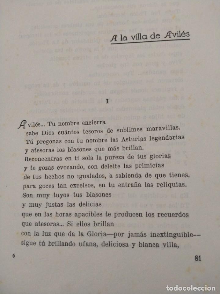 Libros antiguos: RIMAS SENCILLAS. CARLOS GARCIA ROSALES. TALLERES TIPOGRAFICSO REGION, OVIEDO 1930. CON SEÑALES DE US - Foto 6 - 215066013