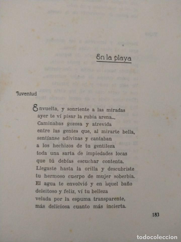 Libros antiguos: RIMAS SENCILLAS. CARLOS GARCIA ROSALES. TALLERES TIPOGRAFICSO REGION, OVIEDO 1930. CON SEÑALES DE US - Foto 7 - 215066013