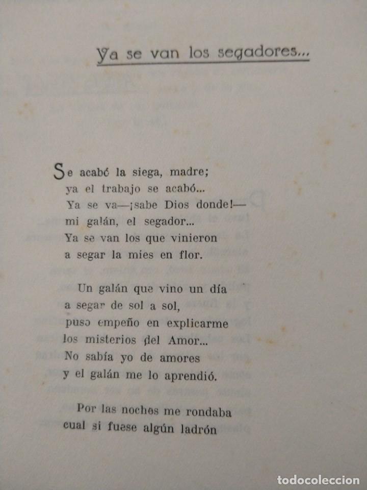 Libros antiguos: RIMAS SENCILLAS. CARLOS GARCIA ROSALES. TALLERES TIPOGRAFICSO REGION, OVIEDO 1930. CON SEÑALES DE US - Foto 8 - 215066013