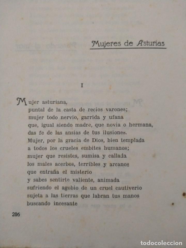 Libros antiguos: RIMAS SENCILLAS. CARLOS GARCIA ROSALES. TALLERES TIPOGRAFICSO REGION, OVIEDO 1930. CON SEÑALES DE US - Foto 9 - 215066013