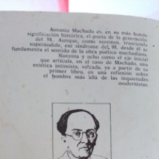 Libros antiguos: ANTONIO MACHADO SOLEDADES POESÍAS DE LA GERRA. Lote 215287693