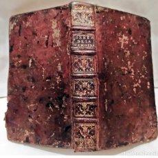 Libri antichi: AÑO 1752: POETAS FRANCESES MÁS CÉLEBRES. LIBRO DEL SIGLO XVIII.. Lote 217626138