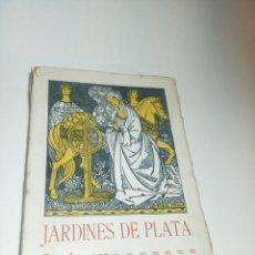 Libros antiguos: JARDINES DE PLATA. FRANCISCO VILLAESPESA. POESÍAS. IMP. HELÉNICA. MADRID. 1912. PRIMERA EDICIÓN.. Lote 218095207