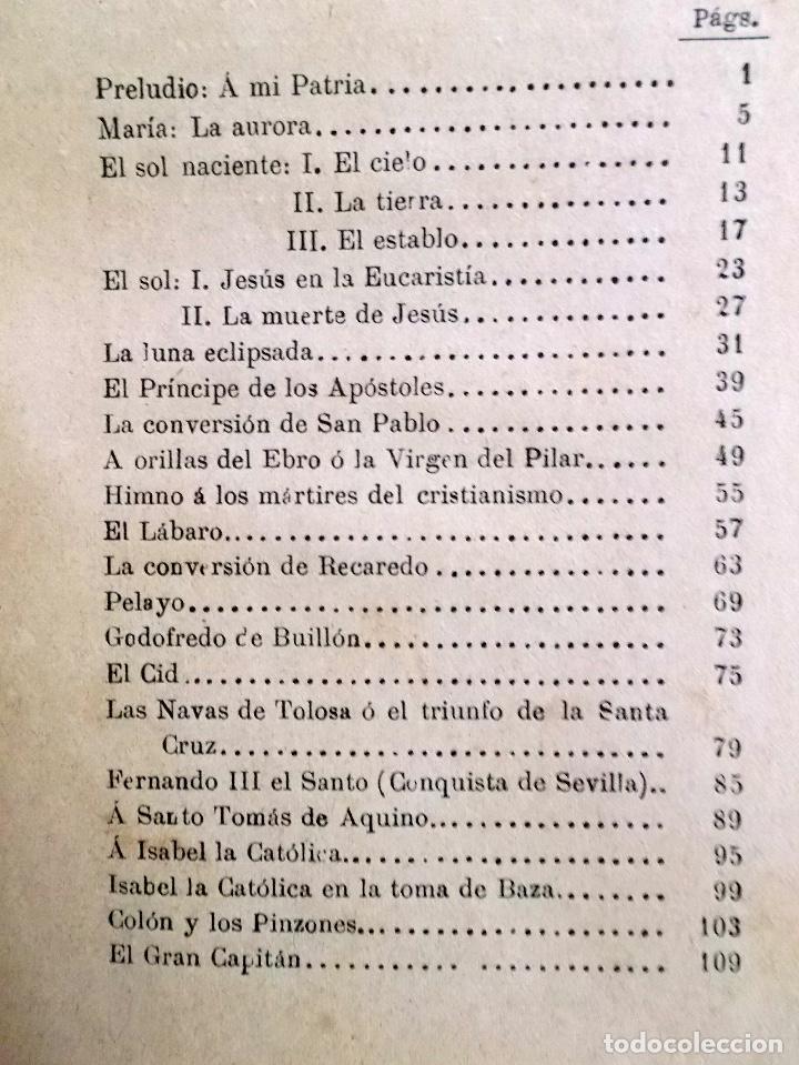 Libros antiguos: 1894 Gritos e Victoria o Triunfo de la Religión y de la Patria muy raro - Foto 3 - 218488895