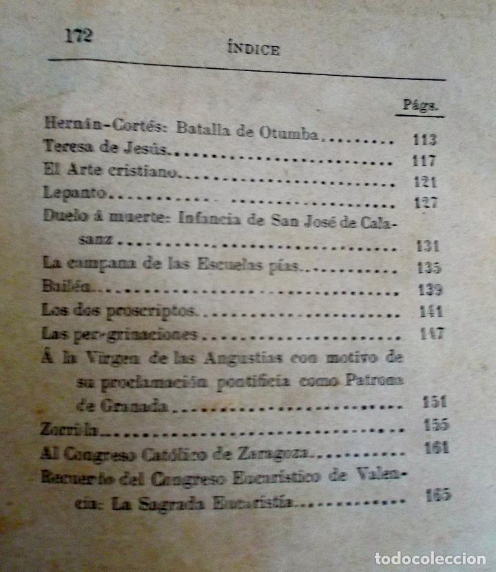Libros antiguos: 1894 Gritos e Victoria o Triunfo de la Religión y de la Patria muy raro - Foto 4 - 218488895