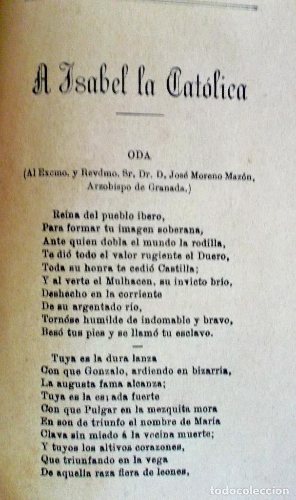 Libros antiguos: 1894 Gritos e Victoria o Triunfo de la Religión y de la Patria muy raro - Foto 8 - 218488895