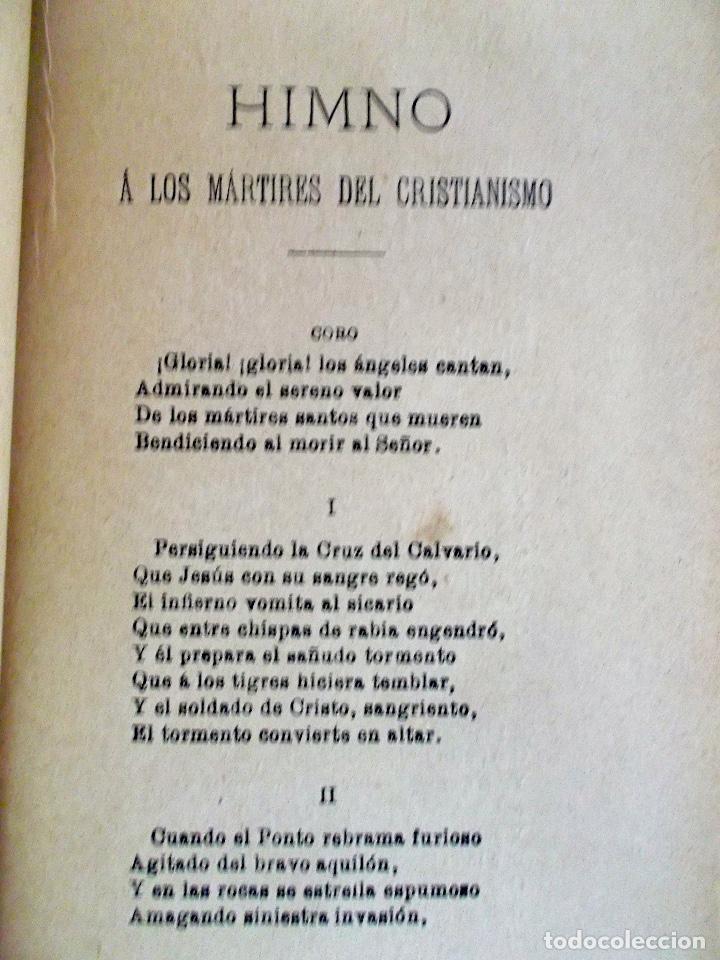 Libros antiguos: 1894 Gritos e Victoria o Triunfo de la Religión y de la Patria muy raro - Foto 17 - 218488895
