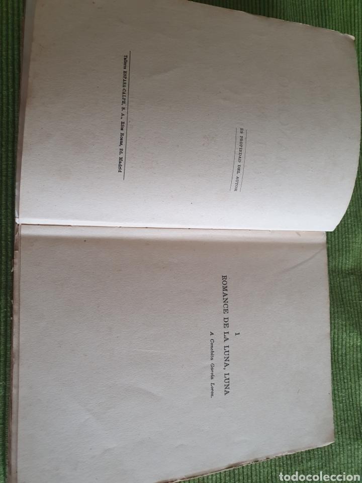 Libros antiguos: Romancero gitano Federico García lorca 1935 espada calpe - Foto 5 - 218508016