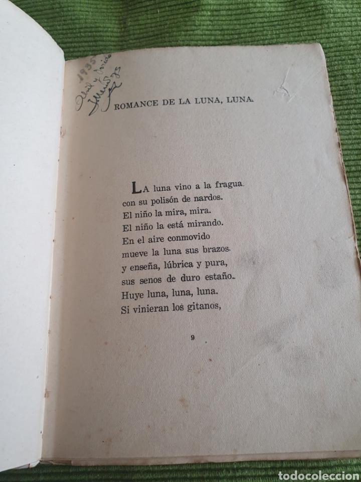 Libros antiguos: Romancero gitano Federico García lorca 1935 espada calpe - Foto 6 - 218508016
