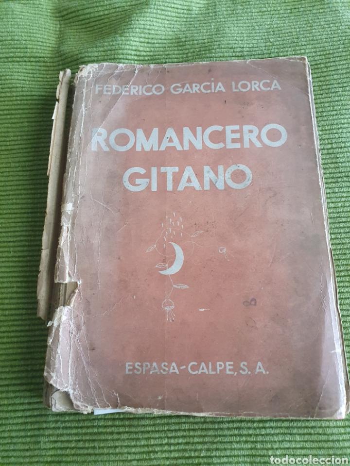 ROMANCERO GITANO FEDERICO GARCÍA LORCA 1935 ESPADA CALPE (Libros antiguos (hasta 1936), raros y curiosos - Literatura - Poesía)