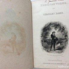 Libri antichi: OBRAS POÉTICAS DE CHARLES LAMB, 1858, 1.ª EDICIÓN. MUY RARO.. Lote 218519670