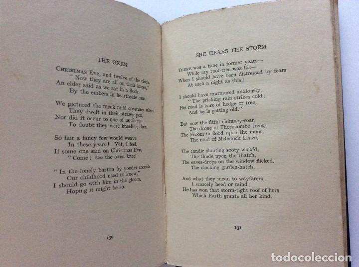 Libros antiguos: Selected poems of Thomas Hardy, 1917. Muy escaso. - Foto 5 - 218520031