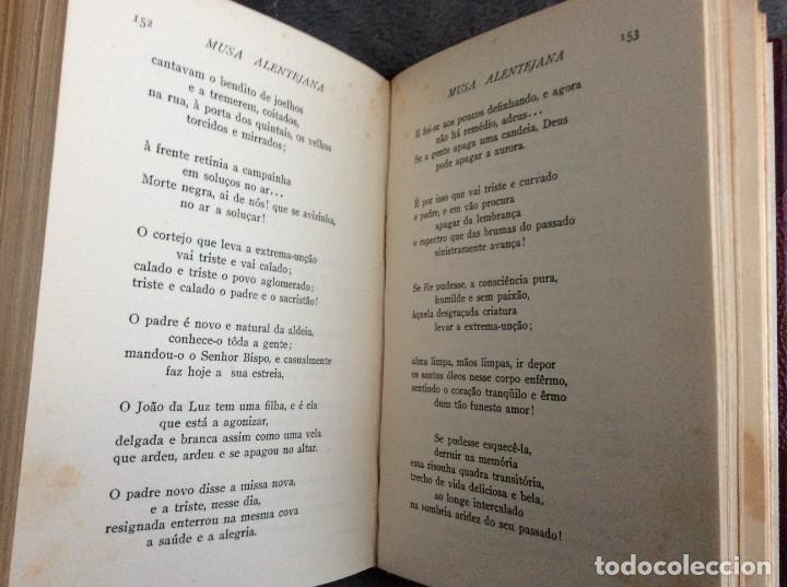 Libros antiguos: MONSARAZ (Conde de).— MUSA ALENTEJANA. 1933. Excelente encuadern. Tirag. reducida de 1112 ejemplares - Foto 11 - 218520800