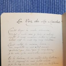 Libros antiguos: LIBRO MANUSCRITO CON 10 POEMAS DEL AÑO 1917. Lote 218963942