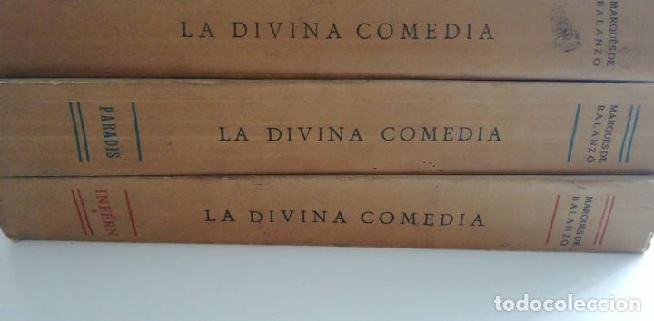 Libros antiguos: MEDIA DE DANTE ALIGHIERI TRADUIDA AL CATALA EN RIMA I EN PROSA 3 TOMOS: INFERN, PARADIS, PURGATORI. - Foto 5 - 220825140