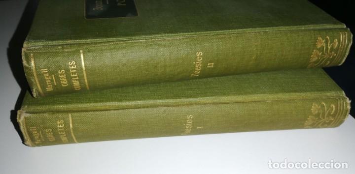 Libros antiguos: POESIES VOL. I Y II. Obres completes de Joan Maragall (x2) 1912 - Foto 2 - 221072582
