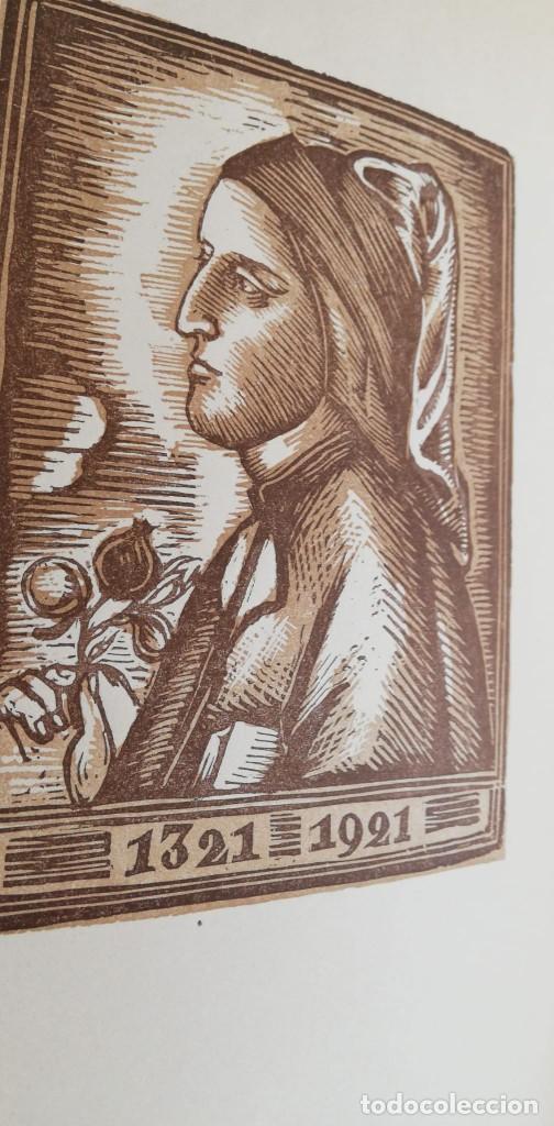 Libros antiguos: LA DIVINA COMÈDIA 2 TOMOS: INFERN I PURGATORI (1921) en Catalán - Foto 2 - 222030508