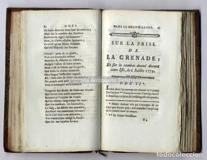 Libros antiguos: Méro [Honoré-Joseph]. Odes anacréontiques, contes en vers, et autres Pieces de Poésie - Foto 2 - 222875391