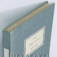 Libros antiguos: MARAGALL, JUAN. OBRA POÉTICA. EDICIÓN BILINGÜE. Lote 222876062