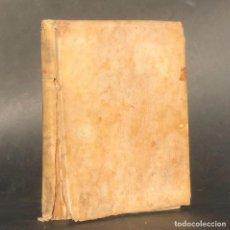 Libros antiguos: 1744 - OBRAS PÓSTHUMAS POÉTICAS, CON LA BURROMAQUIA DE GABRIEL ALVAREZ DE TOLEDO - TORRES VILLAROEL. Lote 224696355