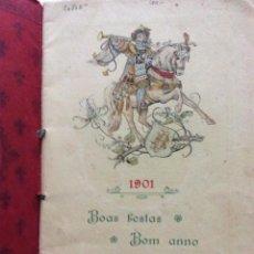 Livres anciens: POETAS VELHOS. BRINDE BAETA DIAS, 1901. VÁRIOS POETAS. EN PORTUGUÉS. RARO. Lote 226786755