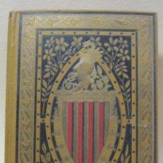 Libros antiguos: CURIOSO LLIBRE DE LA PATRIA. COLECCIÓ DE POESIAS DEL MODERN RENAIXEMENT. BARCELONA, 1882. Lote 227483295