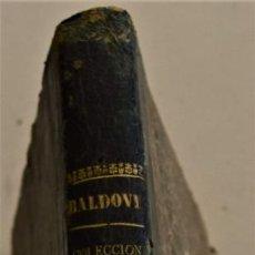Libros antiguos: EL SUECO. COLECCIÓN DE POESÍAS - JOSÉ BERNAT BALDOVÍ - ILUSTRADA CON GRABADOS - VALENCIA 1859. Lote 227755245