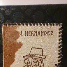 Libros antiguos: MARTIN FIERRO/ JOSÉ HERNÁNDEZ/ CON AGUAFUERTES ALFREDO GUIDO/ EDITORIAL GUILLERMO KRAFT LIMITADA.. Lote 229767240