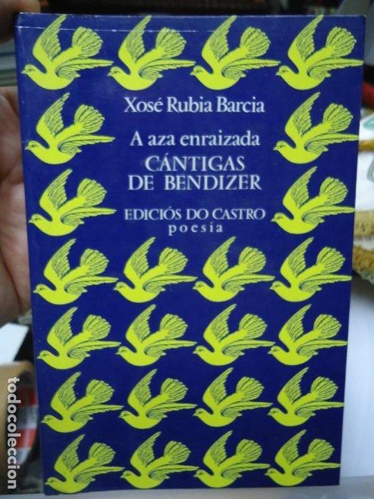 CANTIGAS DE BENDIZER 1981 XOSÉ RUBIA BARCIA EDICC. BILINGÜE EDITADO POR EDICIOS DO CASTRO (Libros antiguos (hasta 1936), raros y curiosos - Literatura - Poesía)