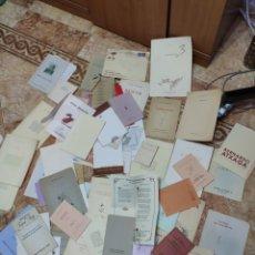 Livros antigos: POESÍAS 55 LIBROS APROXIMADAMENTE. Lote 234026075