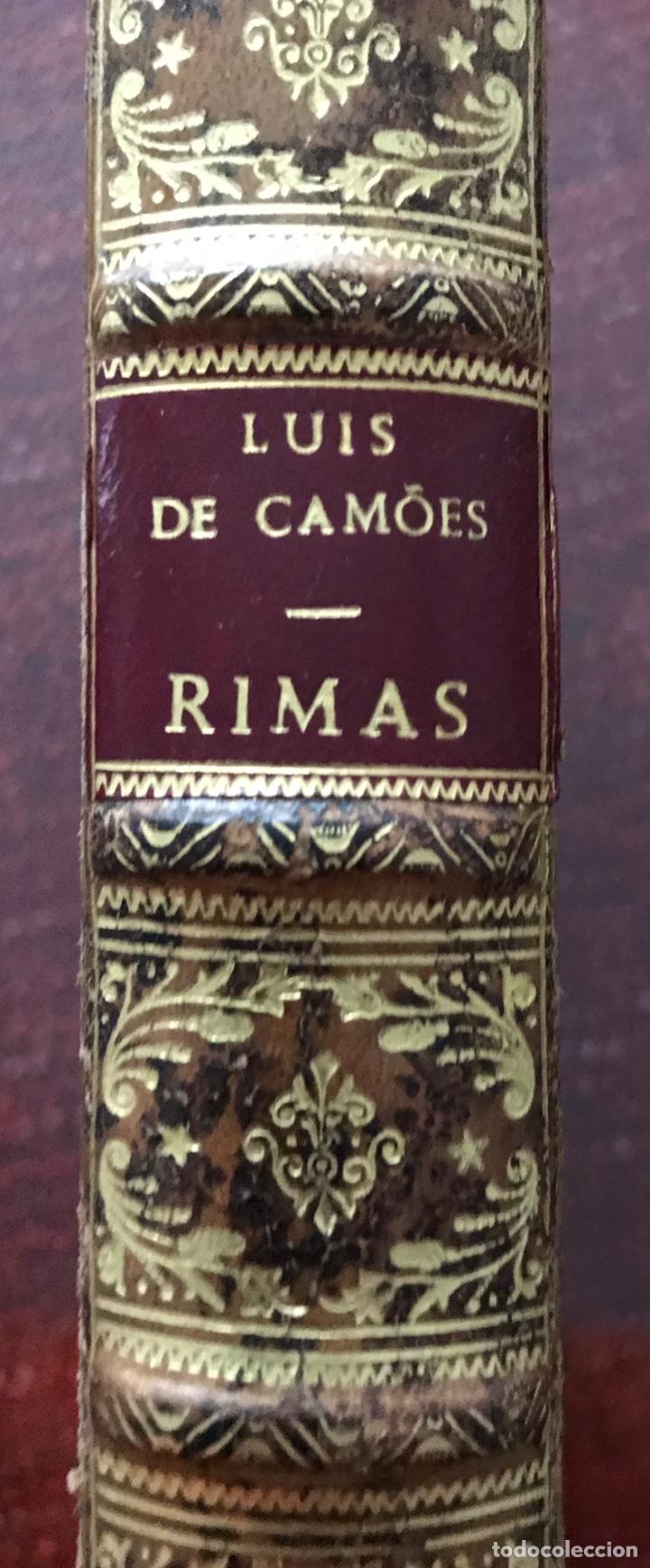 Libros antiguos: Rimas de Luis de Camões. 1598. Edición rarísima. - Foto 6 - 235418405
