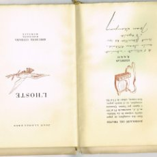 Libros antiguos: JOAN LLONGUERES L'HOSTE EDICIONS CITHARA 1949 EXEMPLAR NUMERAT DEDICAT A JOAN ESTELRICH. Lote 235447280