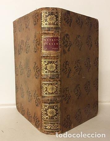 POESIE DEL SIGNOR ABATE P. DE METASTASIO (T OTTAVO) 1757. (ADRIANO EN SIRIA, DIDONE ABBANDONATA, (Libros antiguos (hasta 1936), raros y curiosos - Literatura - Poesía)