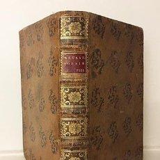 Libros antiguos: POESIE DEL SIGNOR ABATE P. DE METASTASIO (T OTTAVO) 1757. (ADRIANO EN SIRIA, DIDONE ABBANDONATA,. Lote 235507985