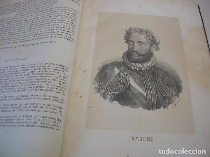 Libros antiguos: LUIS DE CAMOENS OS LUSIADAS 1873 - Foto 2 - 235920985