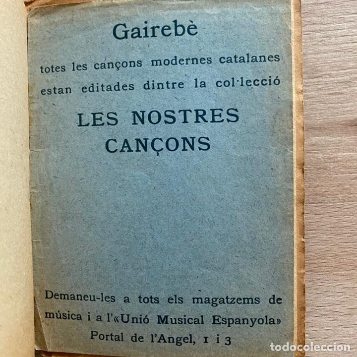 Libros antiguos: Josep Maria de Sagarra. Cançons diverses. 1926. - Foto 3 - 237256695