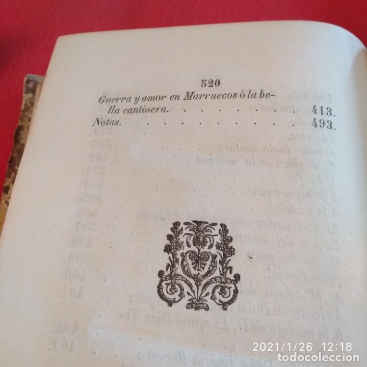 Libros antiguos: Ensayos poéticos de D. Ricardo López de Arcilla, Toro 1860, 537 páginas, enc. en holandesa. - Foto 4 - 237286625