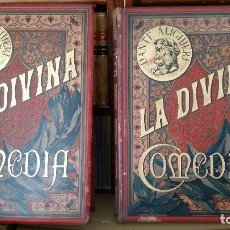 Libros antiguos: 1884 - DANTE ALIGHIERI - LA DIVINA COMEDIA - MONTANER, GUSTAVO DORÉ, COMPLETO. Lote 238770535