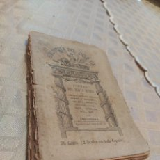 Libros antiguos: TESORO DE AUTORES ILUSTRES. POETAS DEL NUEVO MUNDO. Lote 240026920