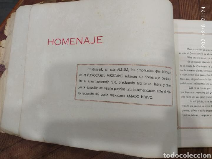 Libros antiguos: Amado Nerbo. Selección breve de sus poesías - Foto 4 - 240347745