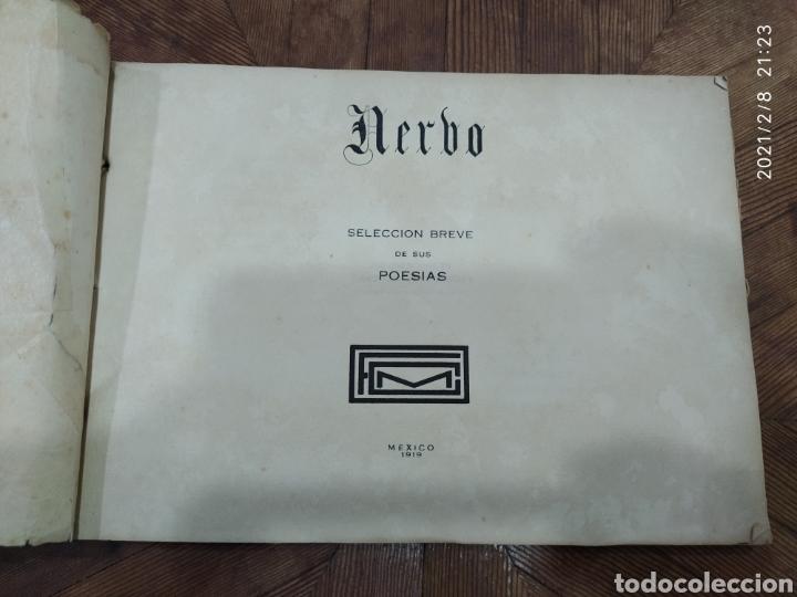 Libros antiguos: Amado Nerbo. Selección breve de sus poesías - Foto 7 - 240347745