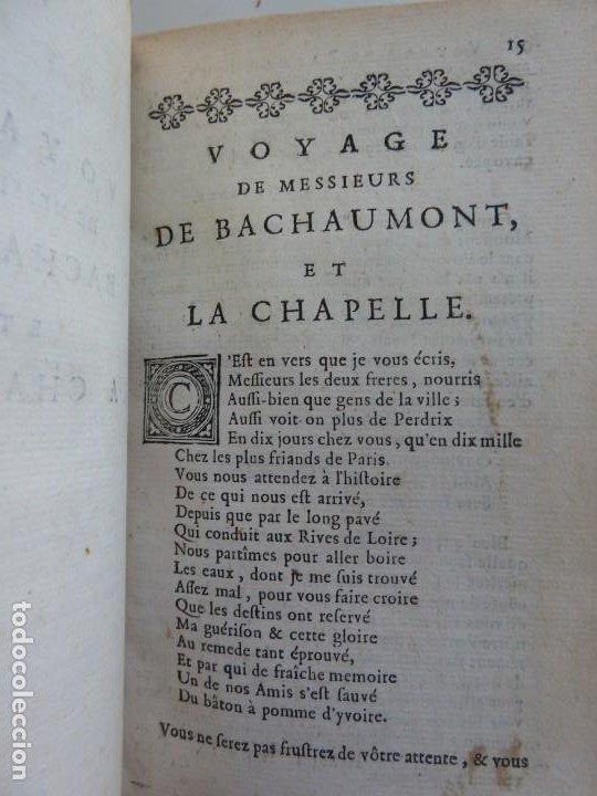Libros antiguos: 3 TÍTULOS EN UN TOMO: LE DIVORCE DE LAMOUR. VOYAGE DE MESSIEURS DE BACHAUMONT. LOCCASION PERDVE - Foto 4 - 29910072