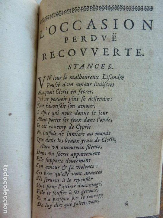 Libros antiguos: 3 TÍTULOS EN UN TOMO: LE DIVORCE DE LAMOUR. VOYAGE DE MESSIEURS DE BACHAUMONT. LOCCASION PERDVE - Foto 6 - 29910072