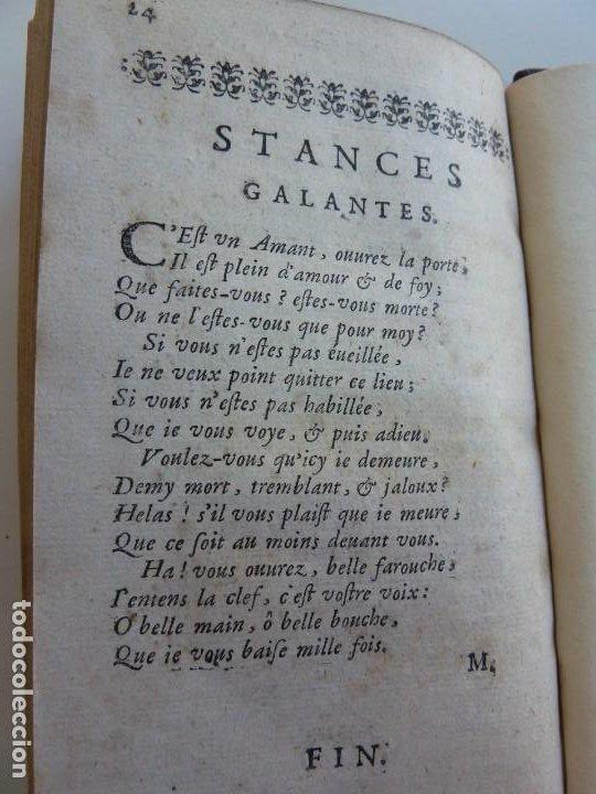 Libros antiguos: 3 TÍTULOS EN UN TOMO: LE DIVORCE DE LAMOUR. VOYAGE DE MESSIEURS DE BACHAUMONT. LOCCASION PERDVE - Foto 8 - 29910072